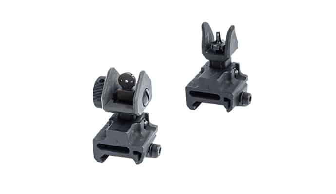 removable iron sights